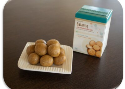 Low Protein Biscuit Laddu